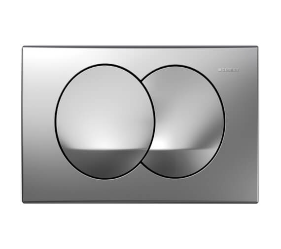 Additional image of Geberit Delta20 246 x 164mm Dual Flush Plate