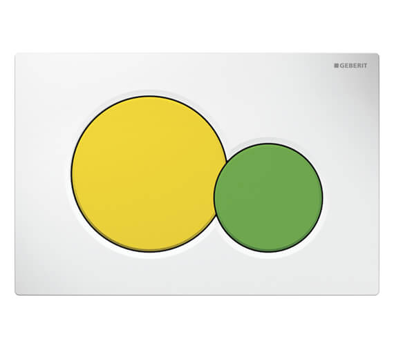 Alternate image of Geberit Sigma01 Dual Flush Plate