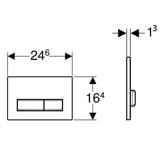 Technical drawing QS-V16052 / 115.788.11.5