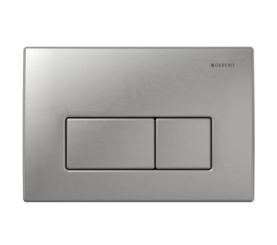 Geberit Kappa50 Dual Flush Plate Stainless Steel Brushed
