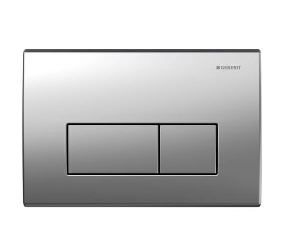Additional image of Geberit Kappa50 Dual Flush Plate Stainless Steel Brushed