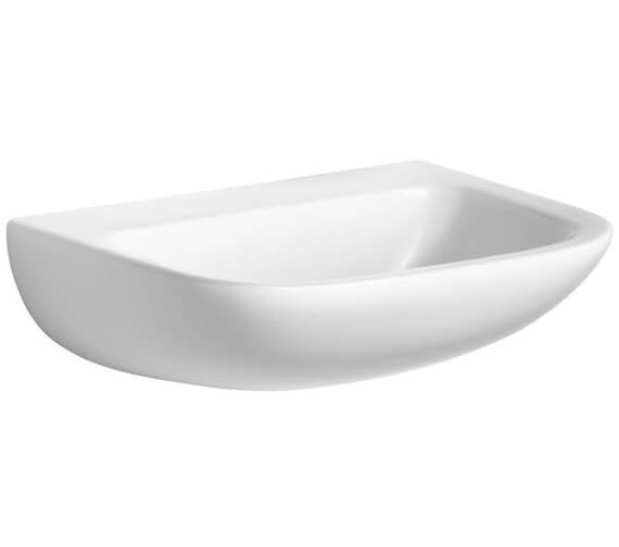 Additional image of Armitage Shanks Contour 21 Washbasin With Back Outlet NTH
