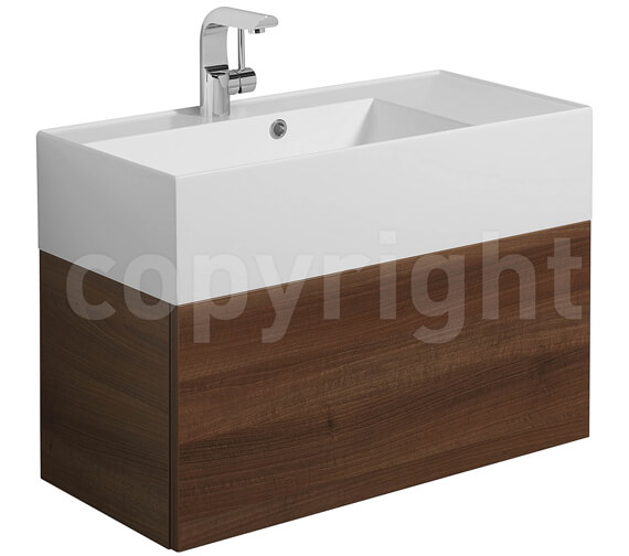 Additional image of Bauhaus Elite 700mm Single Drawer Basin Unit