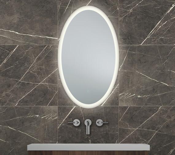 Bathroom Origins Grand Central 600 x 1000mm Backlit LED Mirror - BO.10060.1134.S