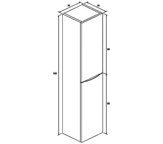 Technical drawing QS-V25900 / GL3516FAW+
