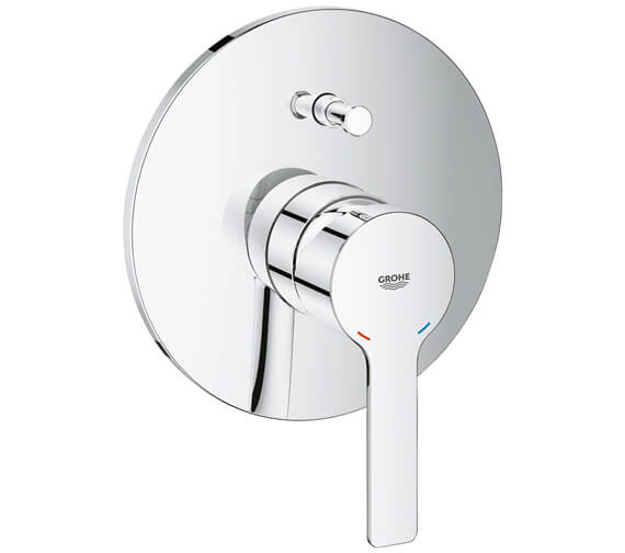 Grohe Lineare Single Lever Shower Mixer Trim With Diverter