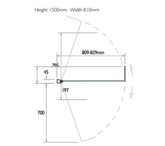 Technical drawing QS-V73755 / 3BASKL