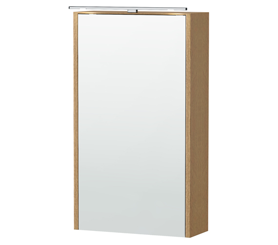 Additional image of Miller London  404 x 700mm Single Door Mirror Cabinet