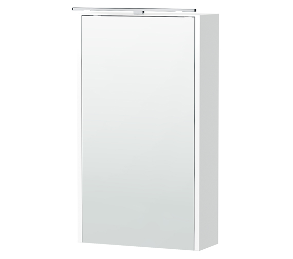 Miller London  404 x 700mm Single Door Mirror Cabinet