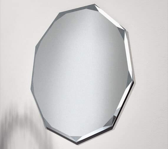 Bathroom Origins Polygon 670mm Non-Illuminated Mirror - B004761