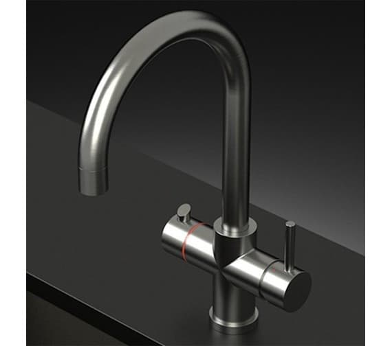 Alternate image of Astracast Curve Twin Lever 3-In-1 Boiling Hot Water Tap