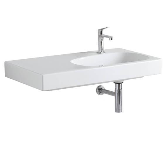 Alternate image of Geberit Citterio Single Taphole Washbasin With Shelf Surface