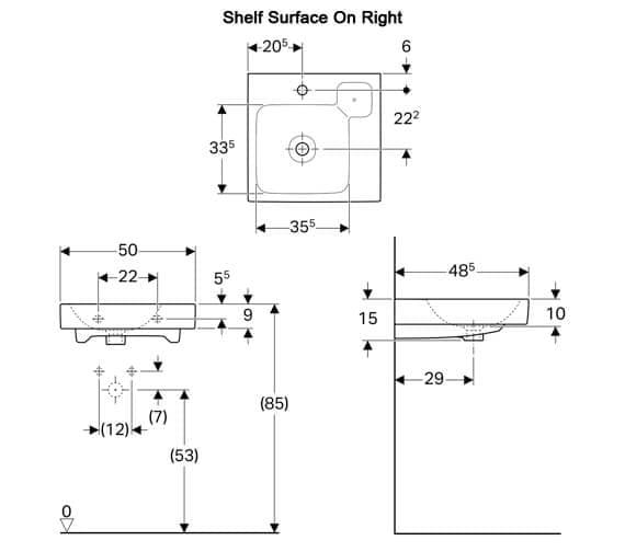 Technical drawing QS-V94656 / 124050000