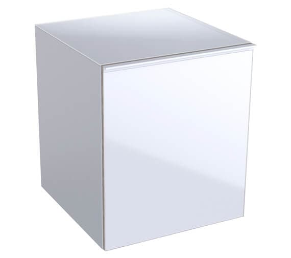 Geberit Acanto 450 x 476mm Low Cabinet - 1 Drawer And 1 Internal Drawer