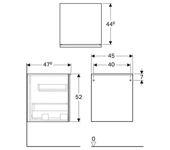 Technical drawing QS-V93757 / 500.618.01.2