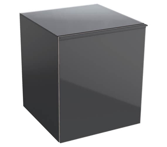 Additional image of Geberit Acanto 450 x 476mm Low Cabinet - 1 Drawer And 1 Internal Drawer