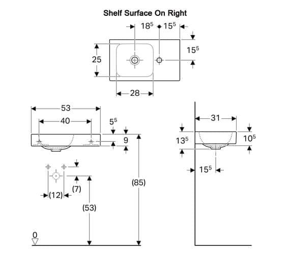 Technical drawing QS-V94657 / 124053000