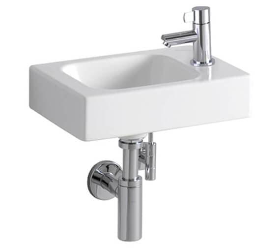 Geberit Icon 380 x 280mm 1 Taphole Handrinse Basin