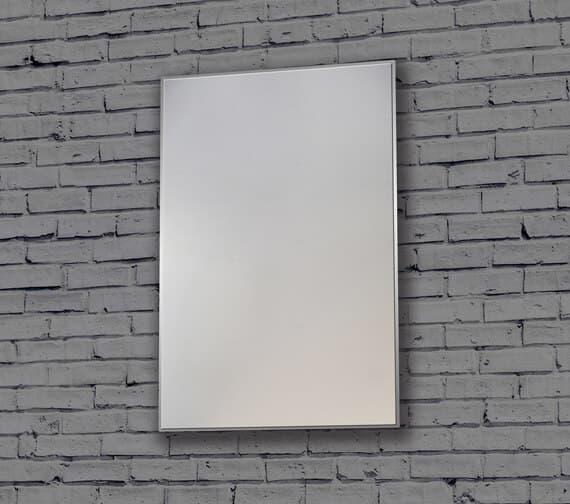 Additional image of Bathroom Origins Metro 600mm Framed Mirror - BR.8060.1133.S