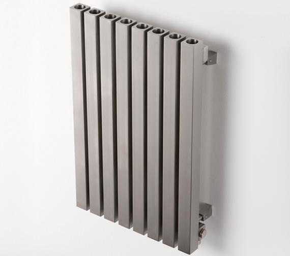 Aeon Dalya E 600mm High Stainless Steel Central Heating Designer Radiator