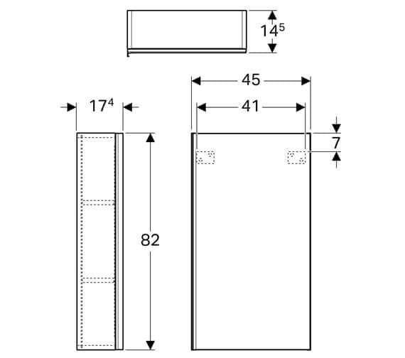 Technical drawing QS-V93760 / 500.639.01.2