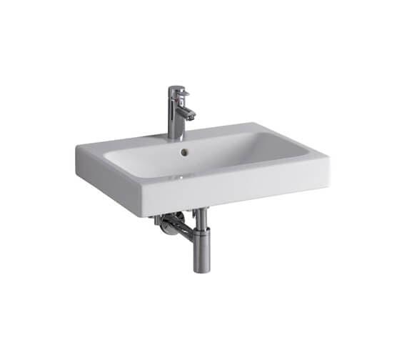 Geberit Icon Washbasin With Overflow White