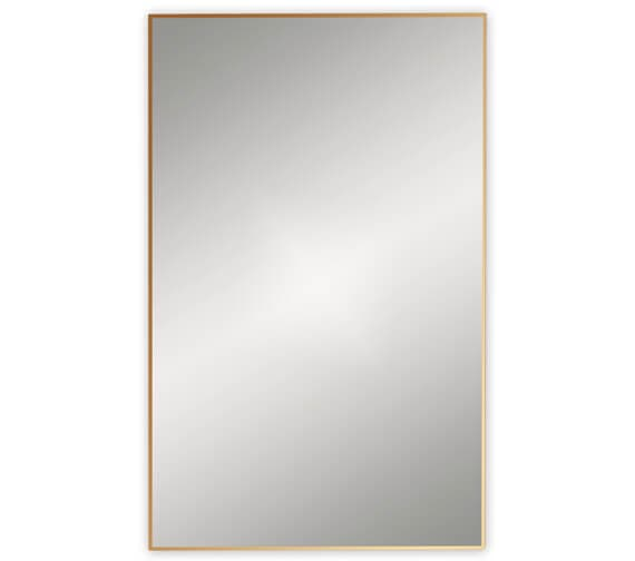 Additional image of Bathroom Origins Docklands Rectangular Framed Mirror