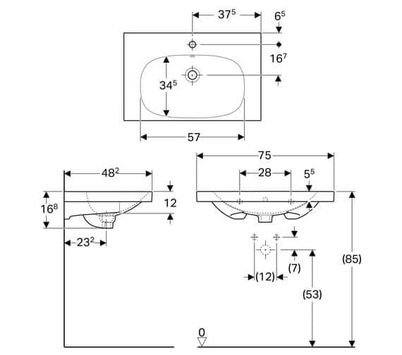Technical drawing QS-V93763 / 500.622.01.1