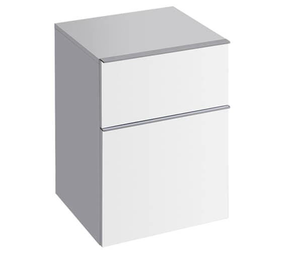 Geberit Icon 450 x 477mm Low Cabinet With 2 Drawers