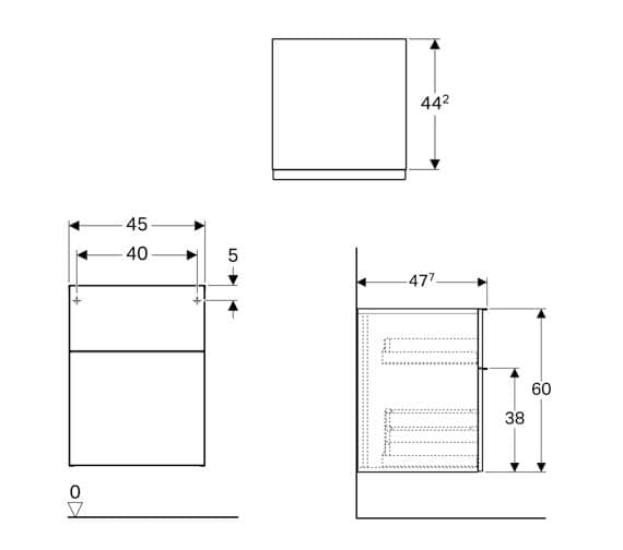 Technical drawing QS-V94661 / 840045000