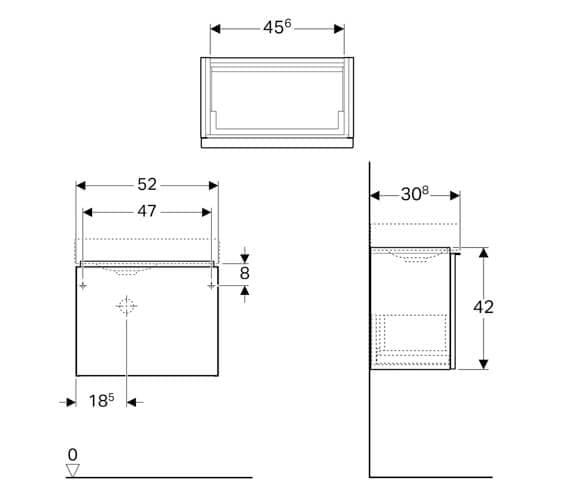 Technical drawing QS-V94662 / 500.427.01.1