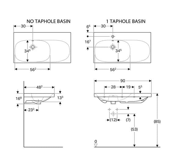 Technical drawing QS-V93764 / 500.625.01.1
