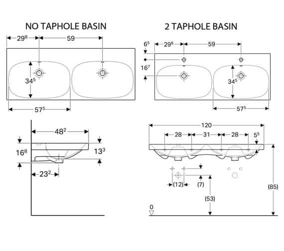 Technical drawing QS-V93765 / 500.627.01.2