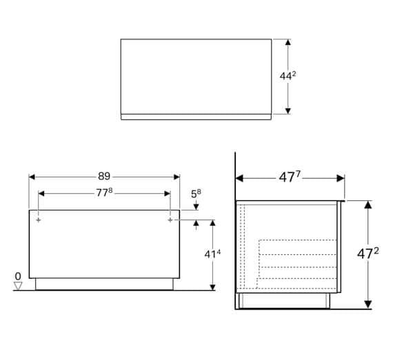 Technical drawing QS-V94663 / 840090000