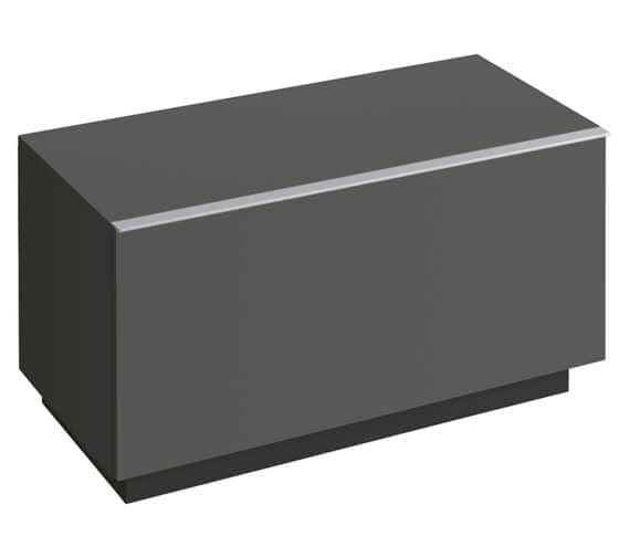 Additional image of Geberit Icon 890 x 477mm Floorstanding Low Cabinet