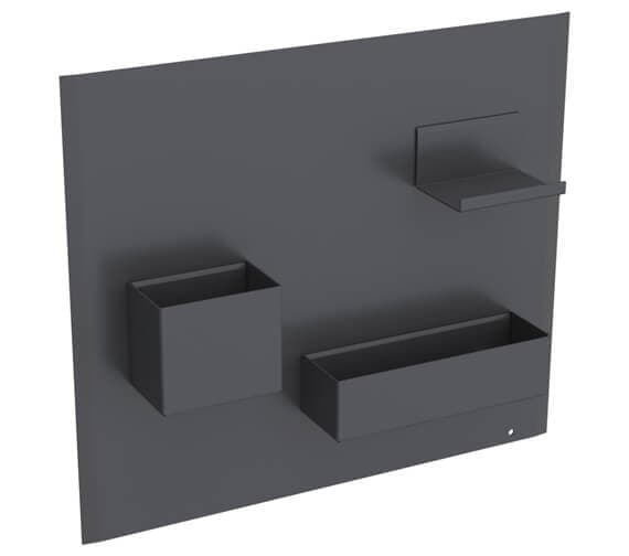 Additional image of Geberit Acanto 449 x 388mm Magnetic Board With Storage Boxes