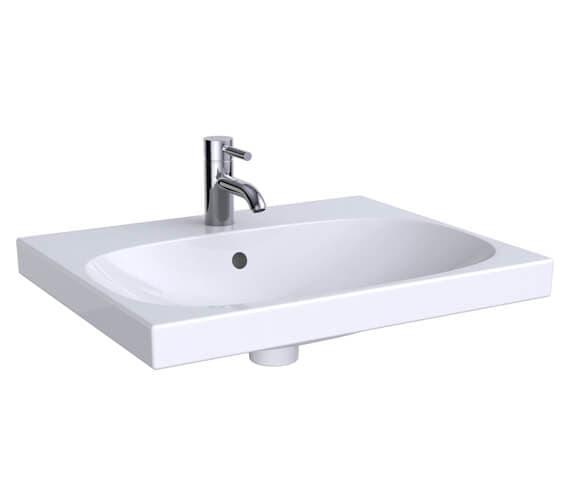 Geberit Acanto Single Taphole Washbasin
