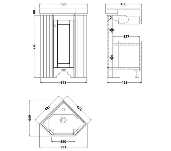 Technical drawing QS-V90773 / LOF309