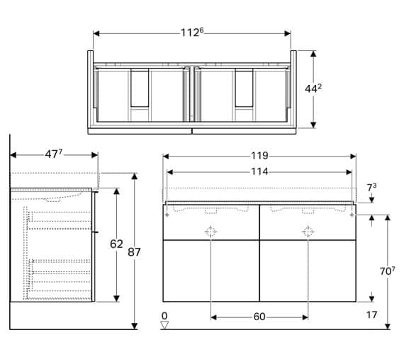 Technical drawing QS-V93773 / 840520000