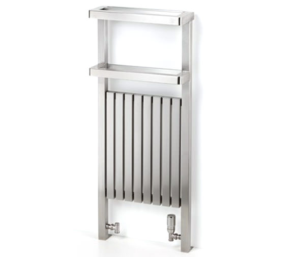 Additional image of Aeon Gallipoli 490mm Wide Stainless Steel Towel Rail