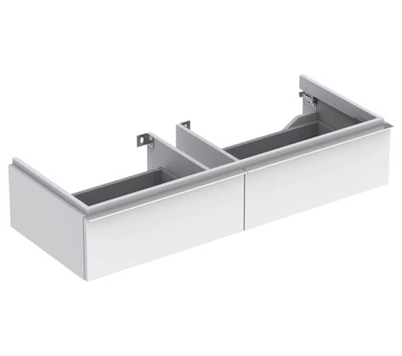 Geberit Icon 1190 x 477mm Two Drawers Vanity Unit