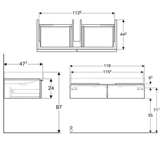 Technical drawing QS-V93774 / 840120000