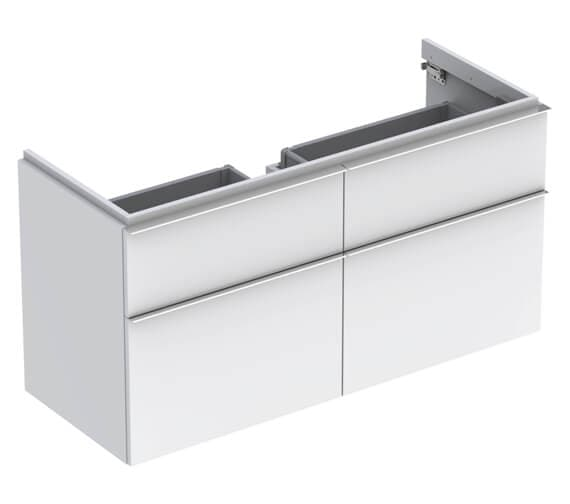 Geberit Icon 1190 x 477mm Four Drawers Vanity Unit