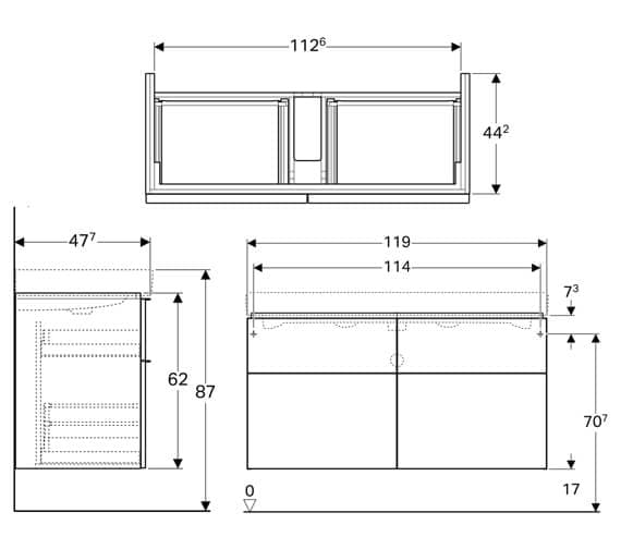 Technical drawing QS-V93775 / 840420000