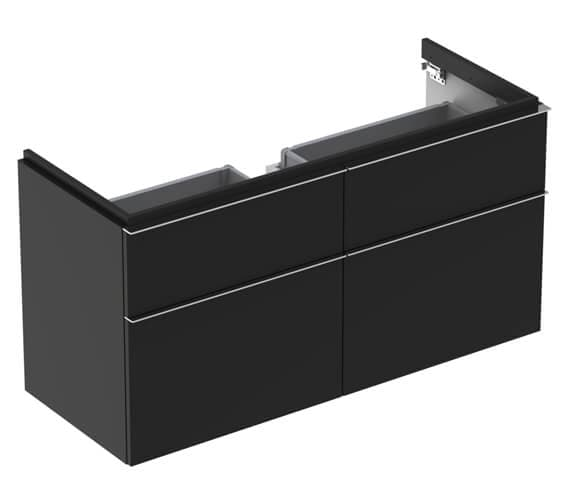 Additional image of Geberit Icon 1190 x 477mm Four Drawers Vanity Unit