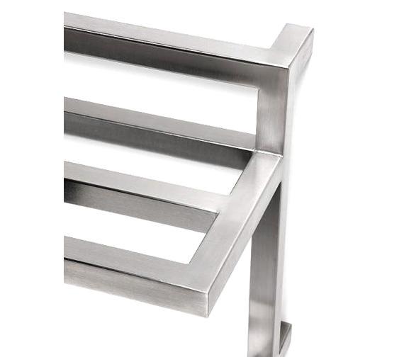 Alternate image of Aeon F-Bar 450 x 420mm Vertical Stainless Steel Towel Rail