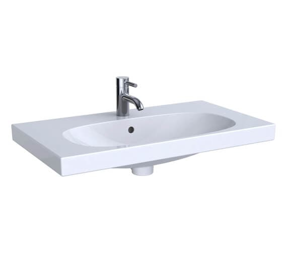 Geberit Acanto Small Projection Washbasin With Shelf Surface