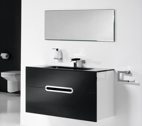 Bathroom Origins Luna 400mm Standard Mirror - 119370