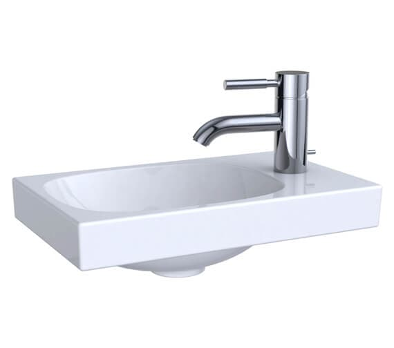 Geberit Acanto Single Taphole Handrinse Basin