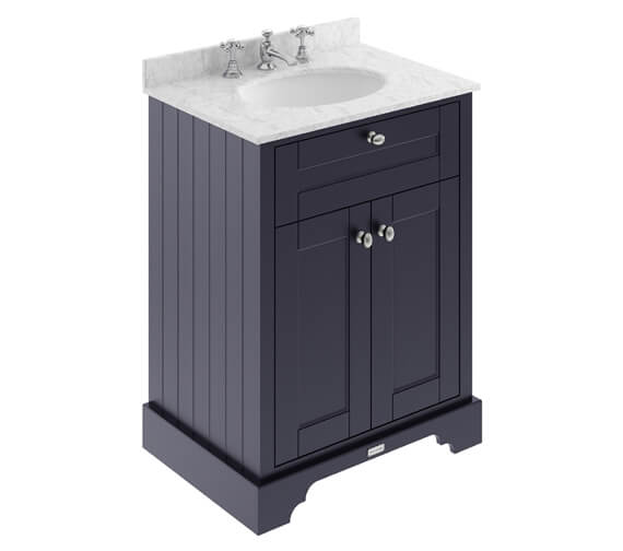 Alternate image of Old London Floor Standing Vanity Unit And Basin With Marble Worktop